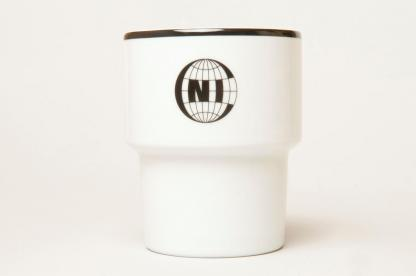 A mug with a NIC [NOTHING] logo