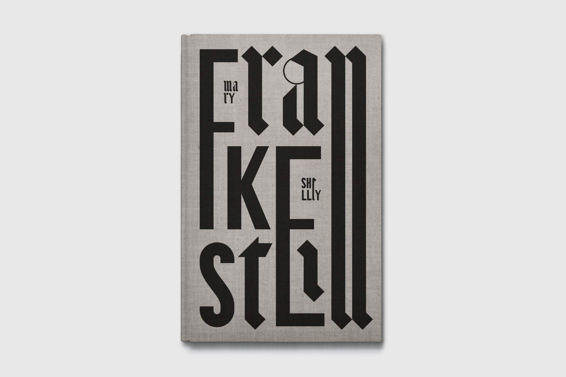 Frankenstein, book cover